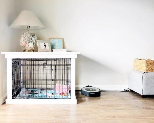 DIY Chic Furniture Dog Crate