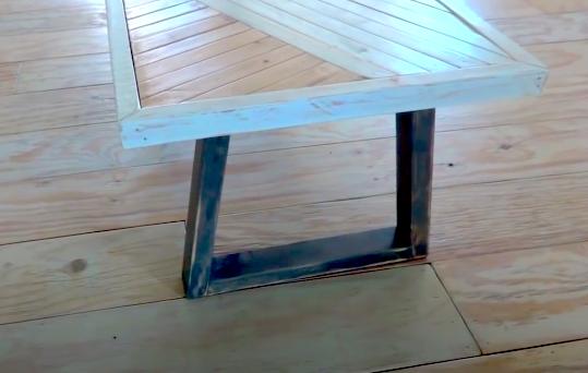DIY Geometric Table Legs