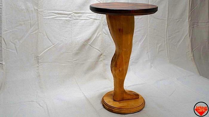 DIY Pedestal Leg Table