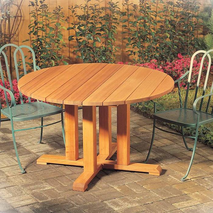 DIY Wooden Blocks Pedestal Table Legs