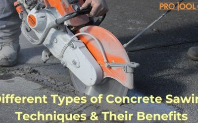 Different Types of Concrete Sawing Techniques & Their Benefits