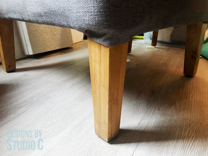 Tapered DIY Table Legs