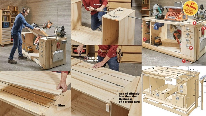 The Flippable Workbench