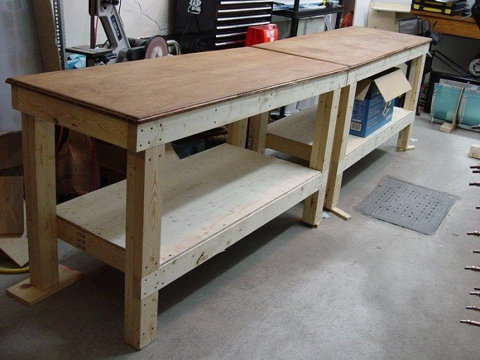 The traditional workbench
