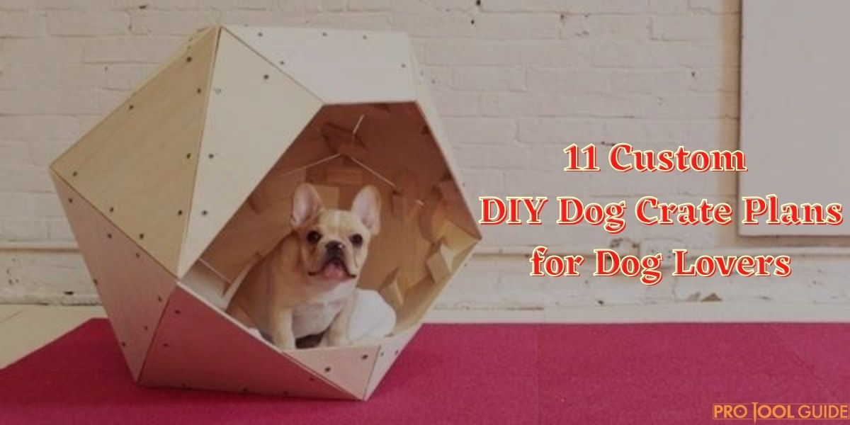 diy dog crate plans