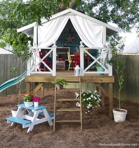 DIY Hideaway Treehouse