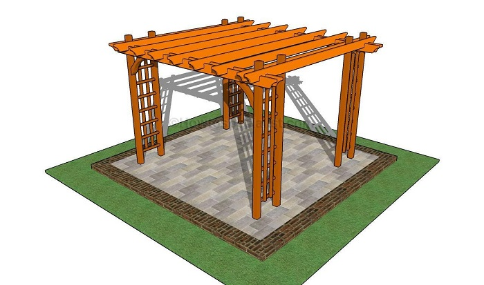 DIY Patio Pergola