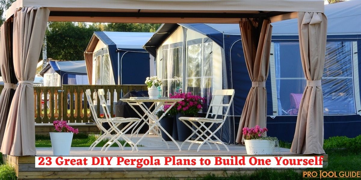 23 Great DIY Pergola Plans to Build One Yourself