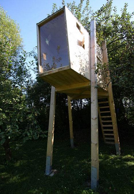 Modern DIY Treehouse