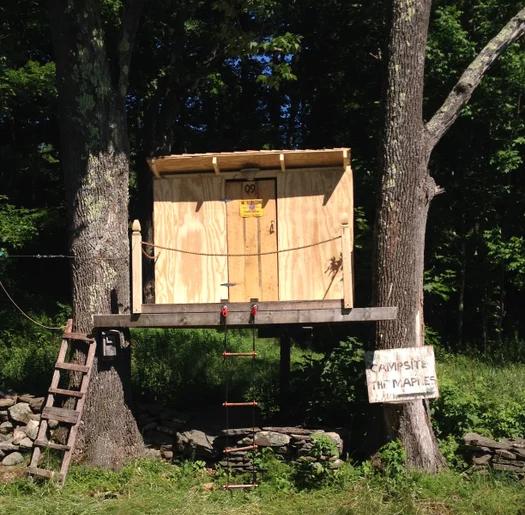Tiny DIY Treehouse