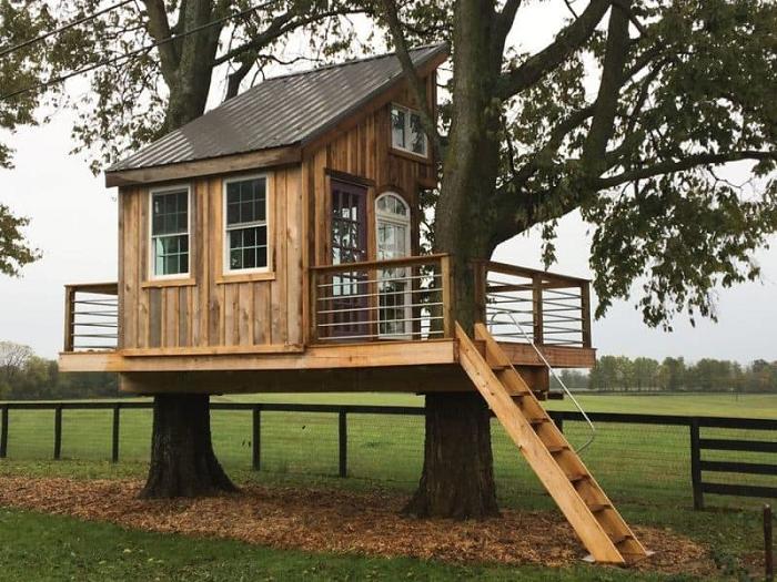 Ultimate DIY Treehouse