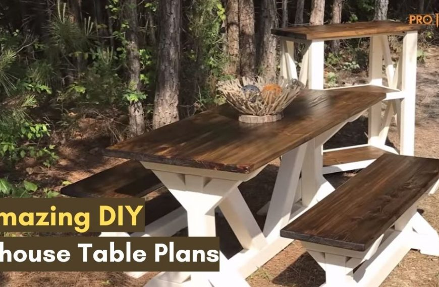 23 Amazing DIY Farmhouse Table Plans