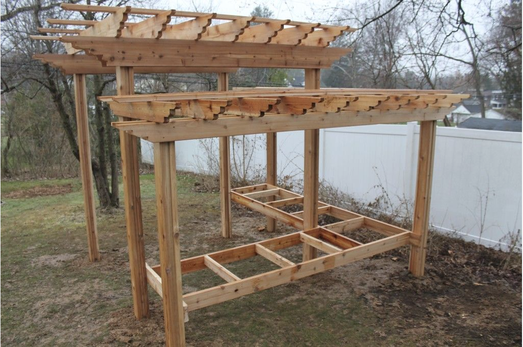 DIY Multi-Use Pergola