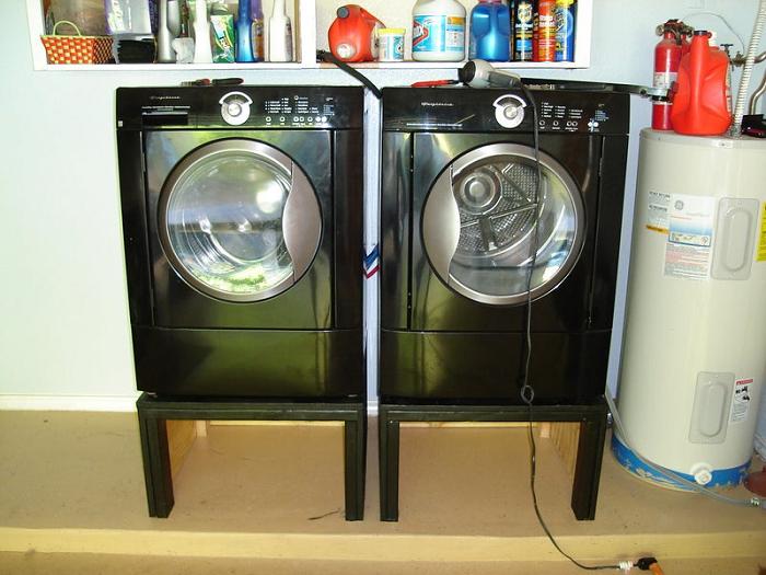 Single Laundry Pedestal Plans