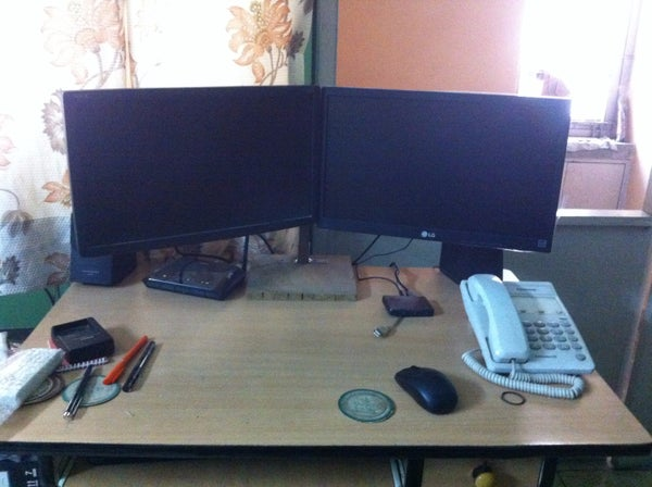 The Two Monitor Stand