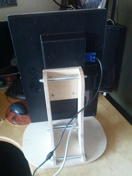 The Vertical Monitor Stand