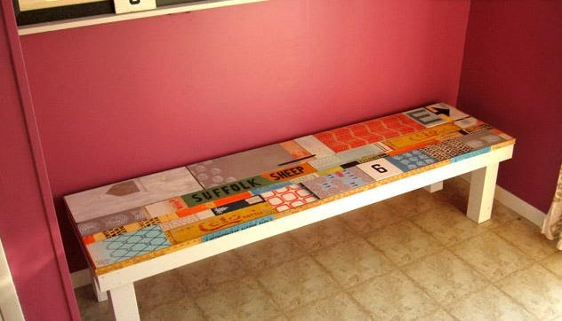 Artful Scrap-Wood DIY Mudroom Bench Plan