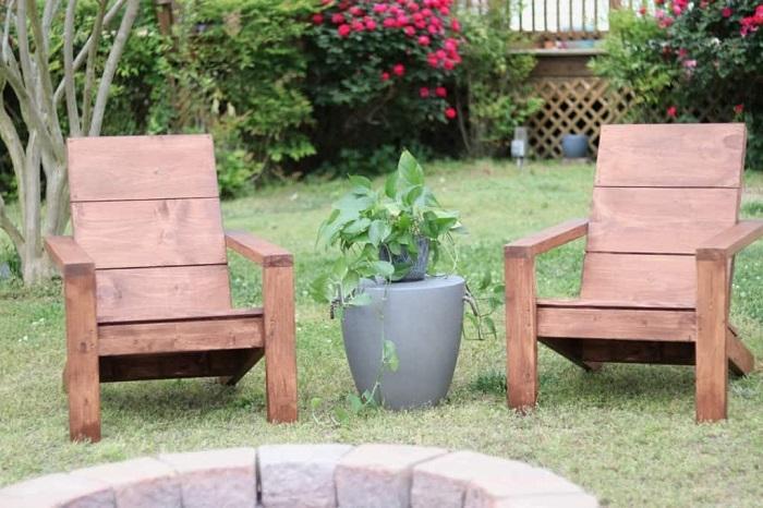 DIY 2X4 Adirondack Chair Plans