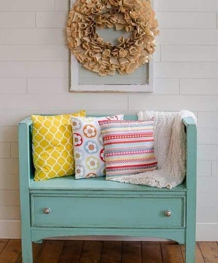 DIY Dresser Turned Bench Tutorial