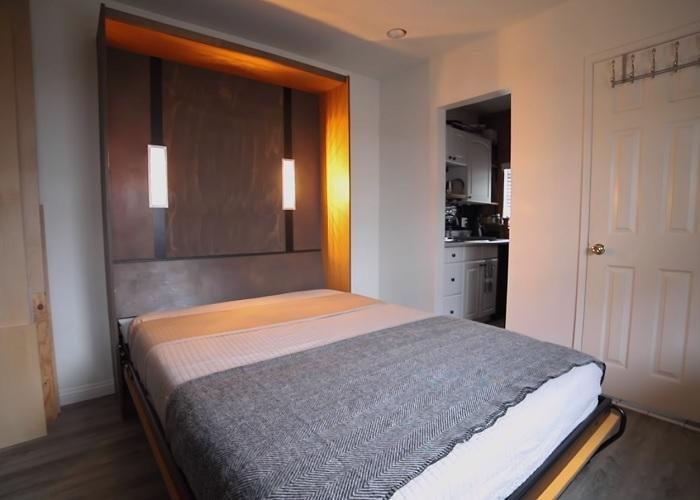 DIY Murphy Bed Design