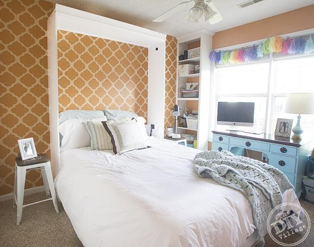 DIY Murphy Bed: Making Room for Guests