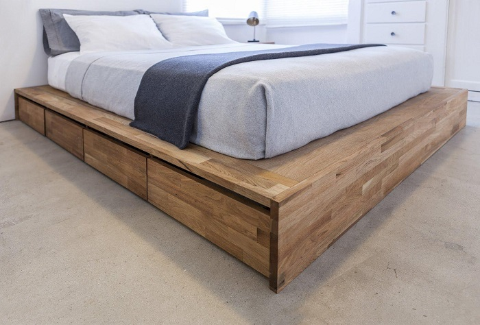 DIY Murphy Bed from a Platform Bed