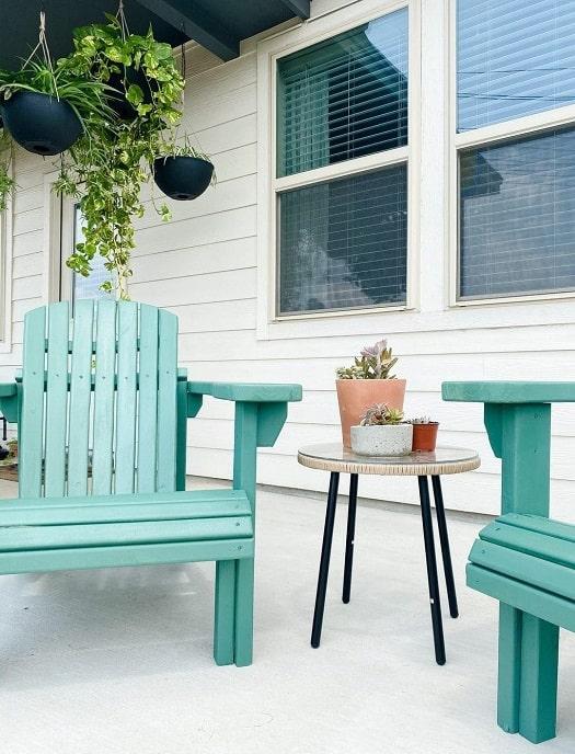 Modern DIY Adirondack Chair Idea