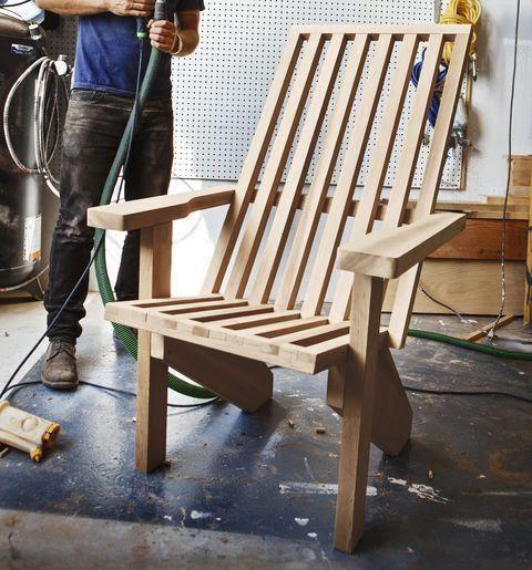 Modernized DIY Adirondack Chair Plan