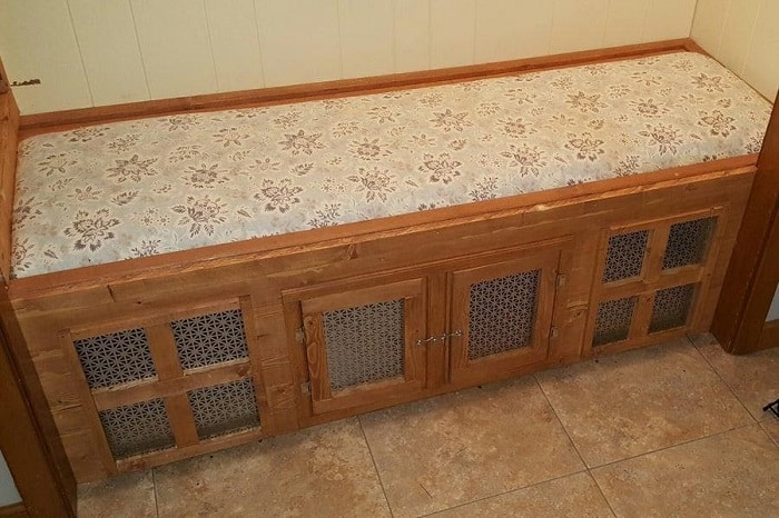 Mudroom Bench and Dog House DIY