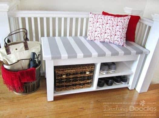 Simple Do-It-Yourself Storage Bench Project