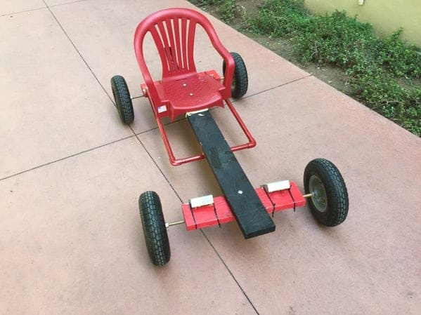 The Plastic Chair GoKart