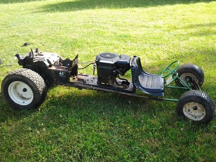 The Riding Mower GoKart