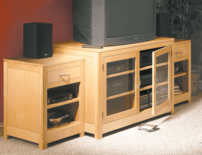 The Sectional Media Storage Center Build