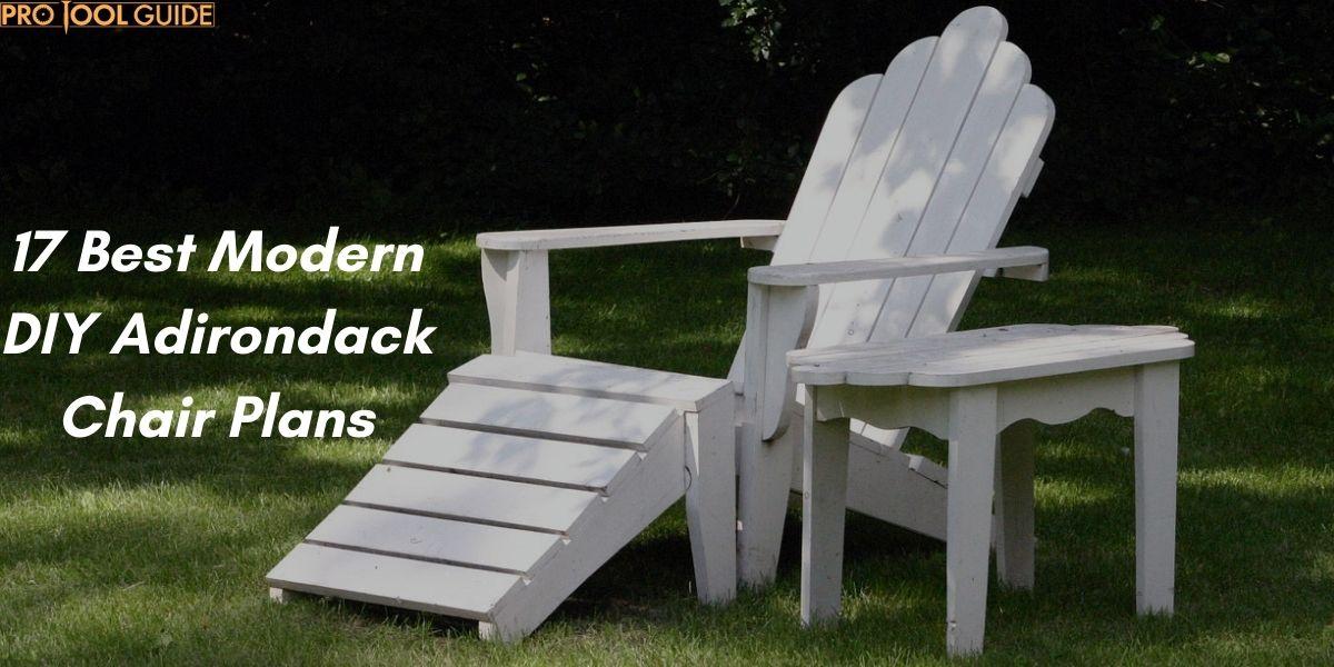 17 Best Modern DIY Adirondack Chair Plans