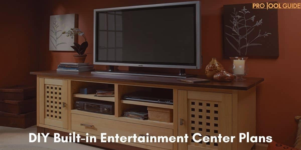 23 Excellent DIY Built-in Entertainment Center Plans